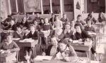 Lyneham Primary School students in their classroom – 1960s