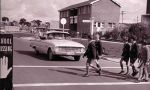Students crossing Brigalow St as they walk to school – 1960s